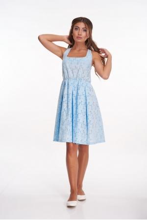Кружевное платье из прошвы