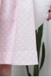 Платье льняное с завязками